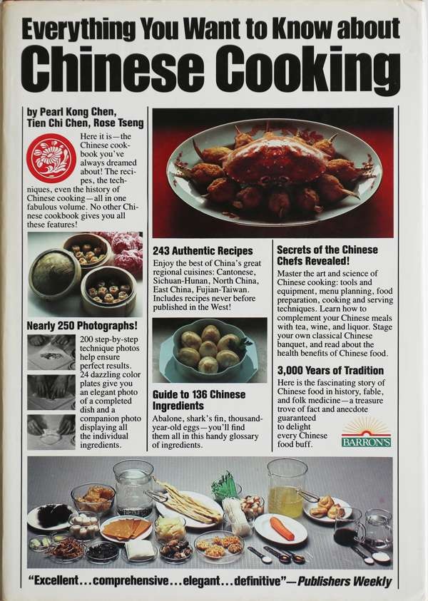 Cookbook everything you want to know about chinese cooking post so the book might not have everything but it covers quite a lot especially when you take into consideration the year it was published 1983 and the forumfinder Choice Image