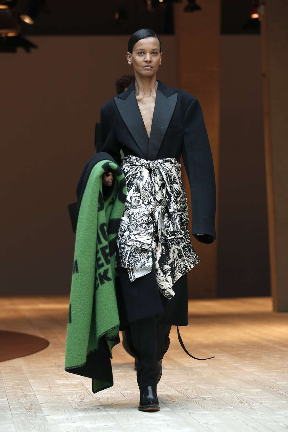 celine fashion designer kcdv  Celine's autumn-winter 2017 collection at Paris Fashion Week Photo: EPA