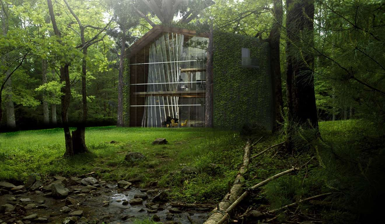 this hk 19 million eco friendly treehouse collects water