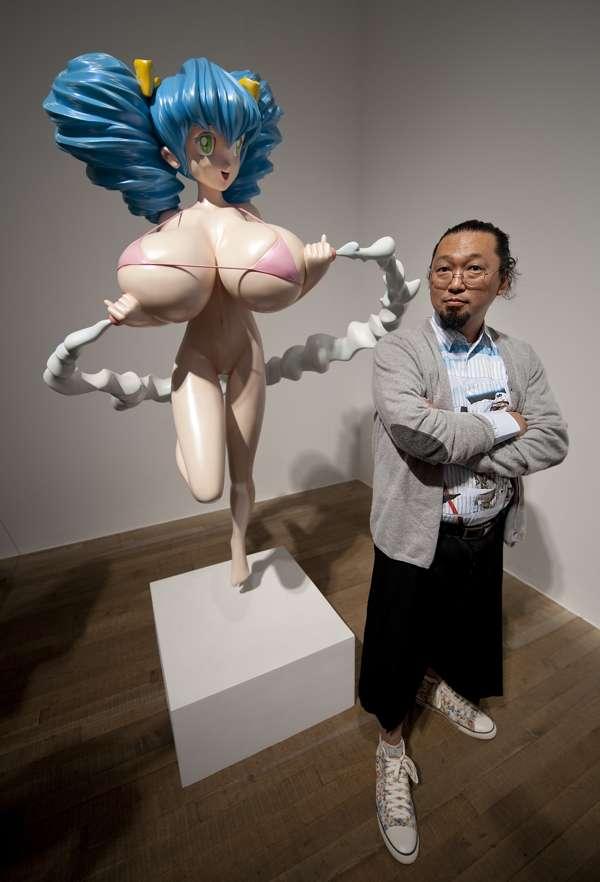 Takashi Murakami, rece...