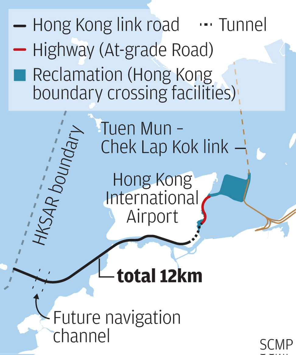 Hong Kong section of mega-bridge set to open | South China ...