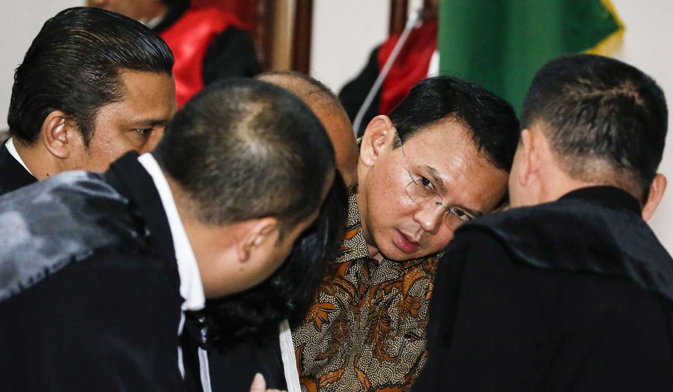Muslim Jakarta governor candidate ahead in election, early count shows
