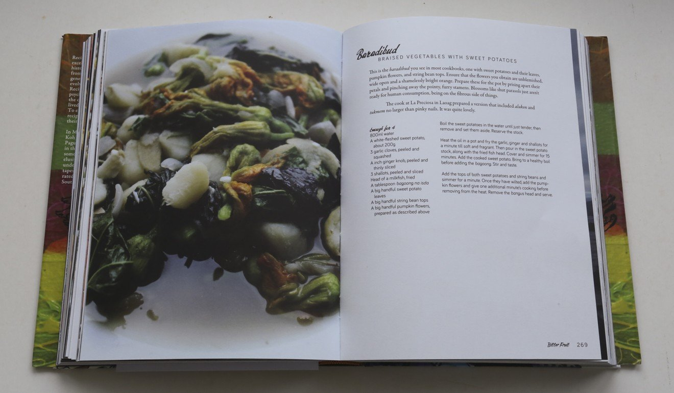 Cookbook a singaporean recalls the delicious filipino food his pages from milkier pigs violet gold by bryan koh forumfinder Images