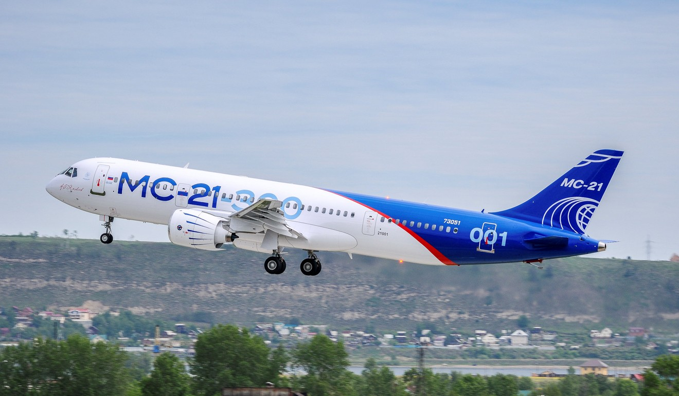 finest selection 5623c 07716 Can this new Russian passenger jet challenge Airbus and Boeing    South  China Morning Post