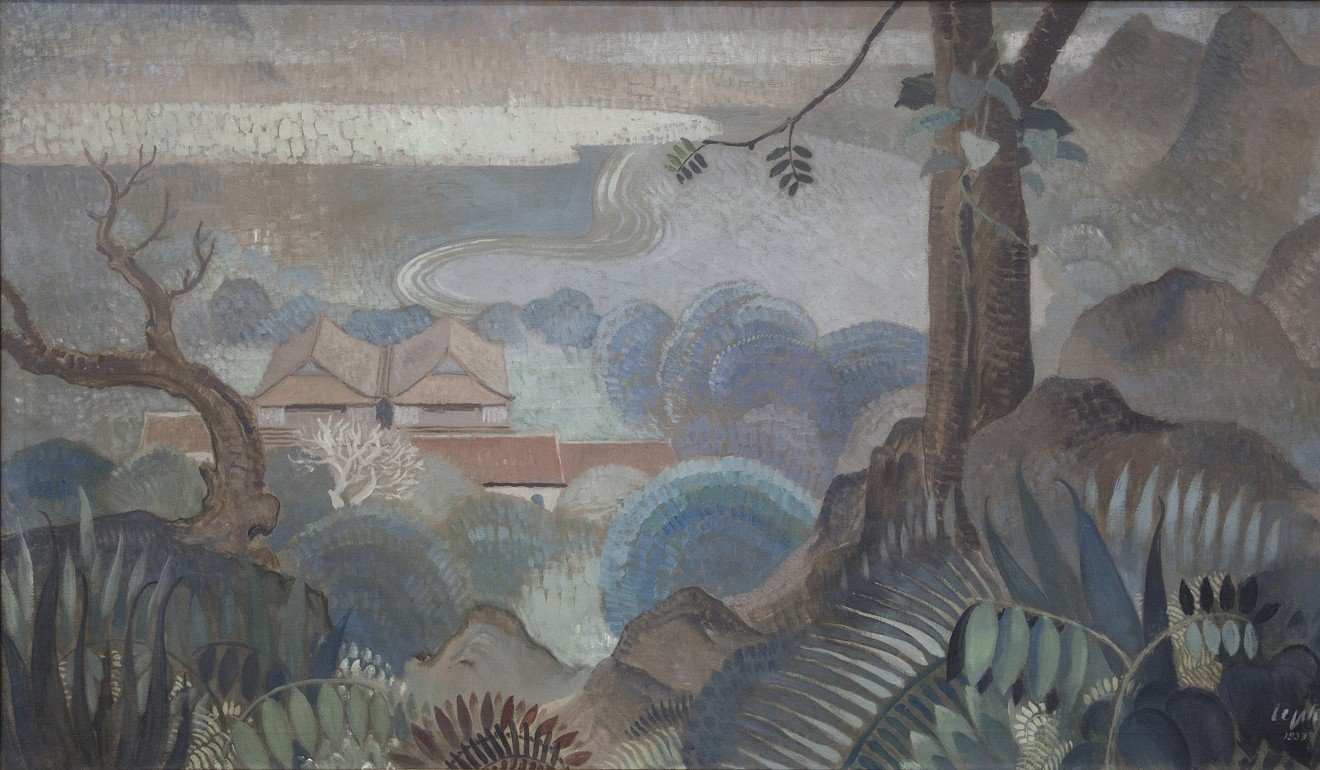 View From the Hilltop (1937), by Le Pho.
