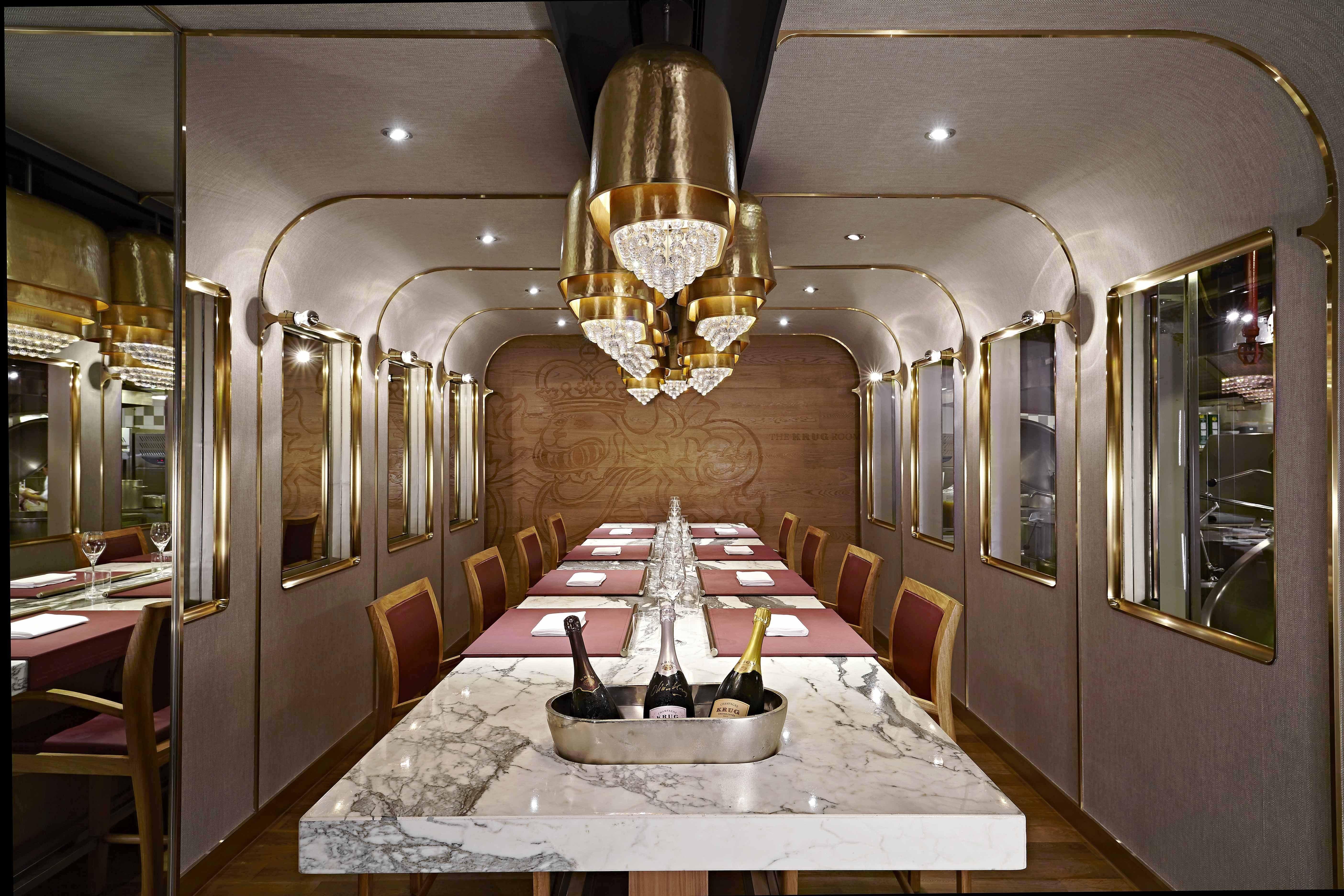 The Krug Room At The Mandarin Oriental Hong Kong