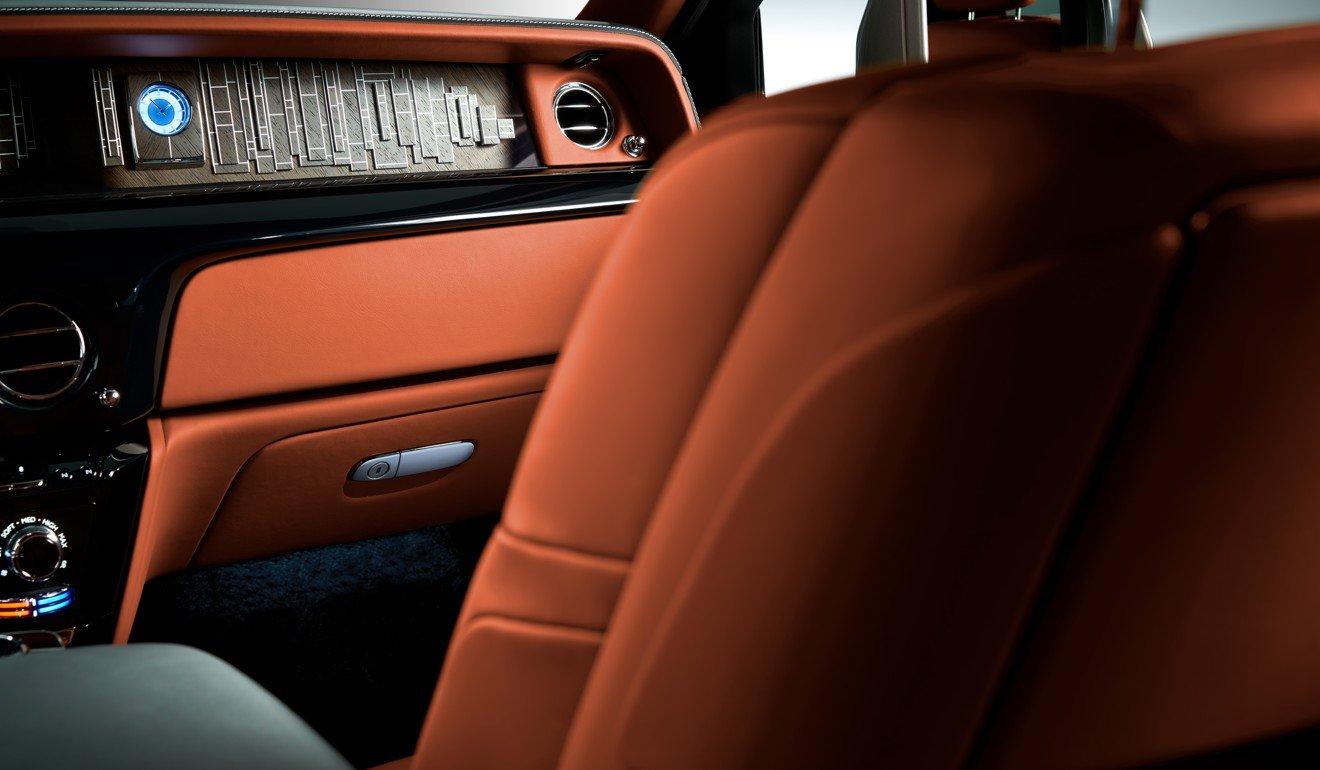 Interior Of The Rolls Royce Phantom VIII Photo