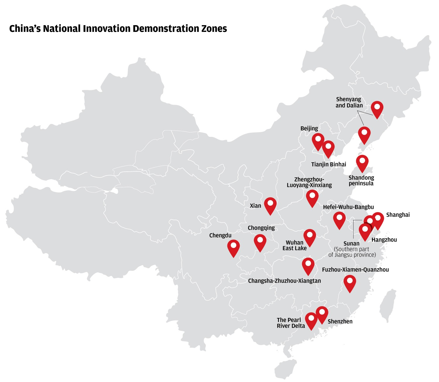 E Commerce Site Map: Where Is China's Silicon Valley?
