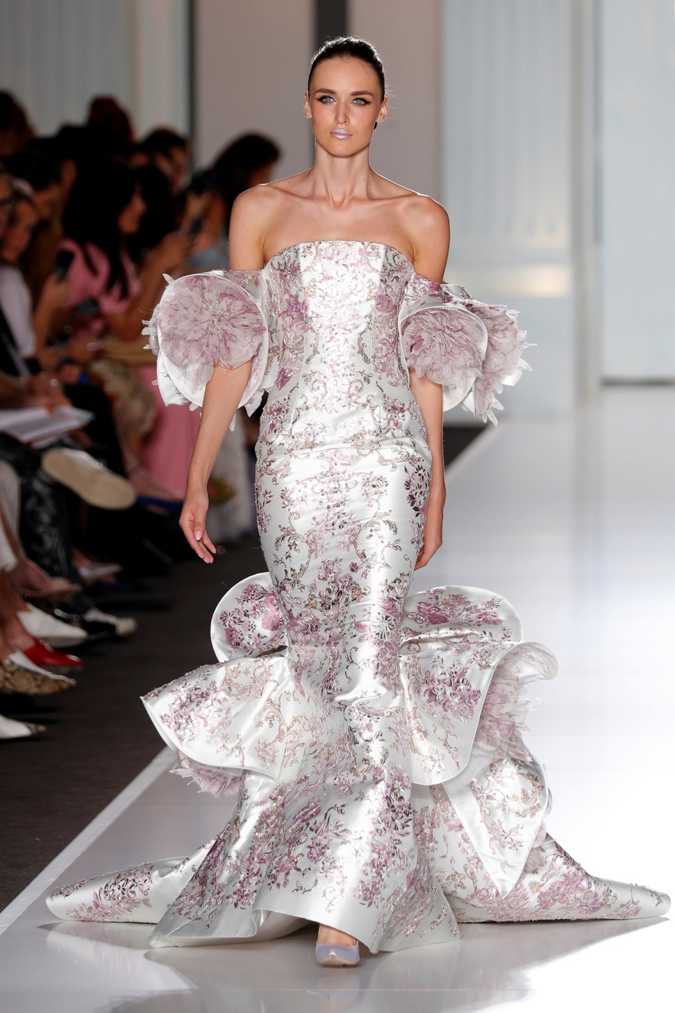 Fashion houses create their own fabrics to highlight for Own the couture