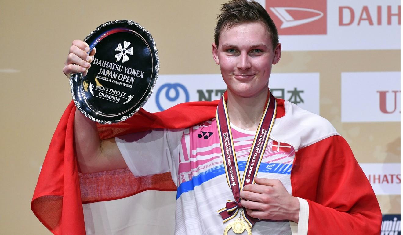 World champion Axelsen defeats Lee Chong Wei for first Japan Open