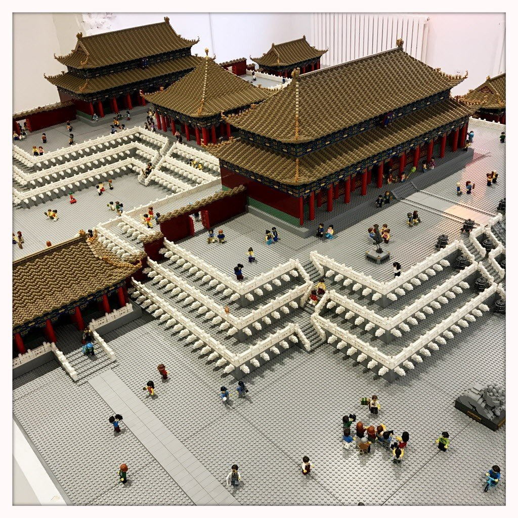 In Pictures Beijings Forbidden City Re Made Lego South China Switch Worlds Games Asia English The Model Is Part Of An Exhibition A Modern Royal Household And Was By Andy Hung One Best Certified Professionals