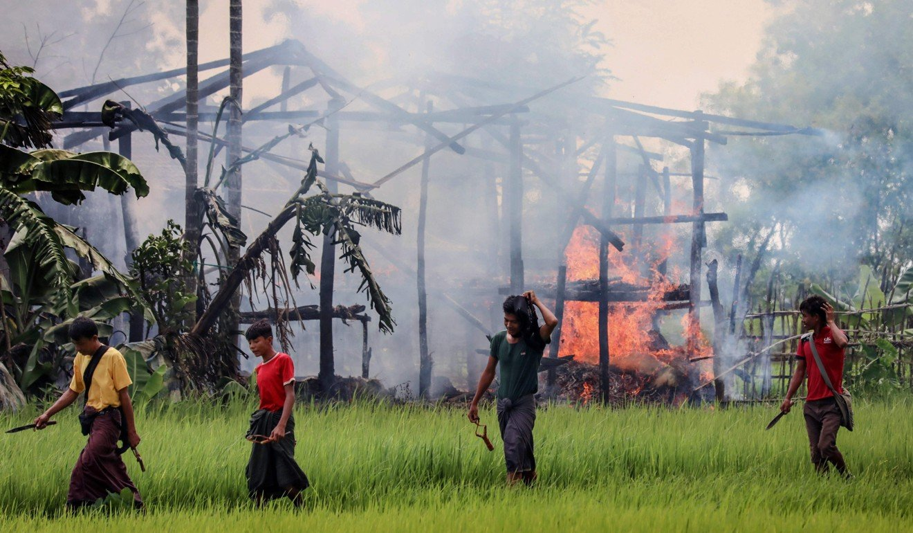 Rohingya in Myanmar hope pope will use same term