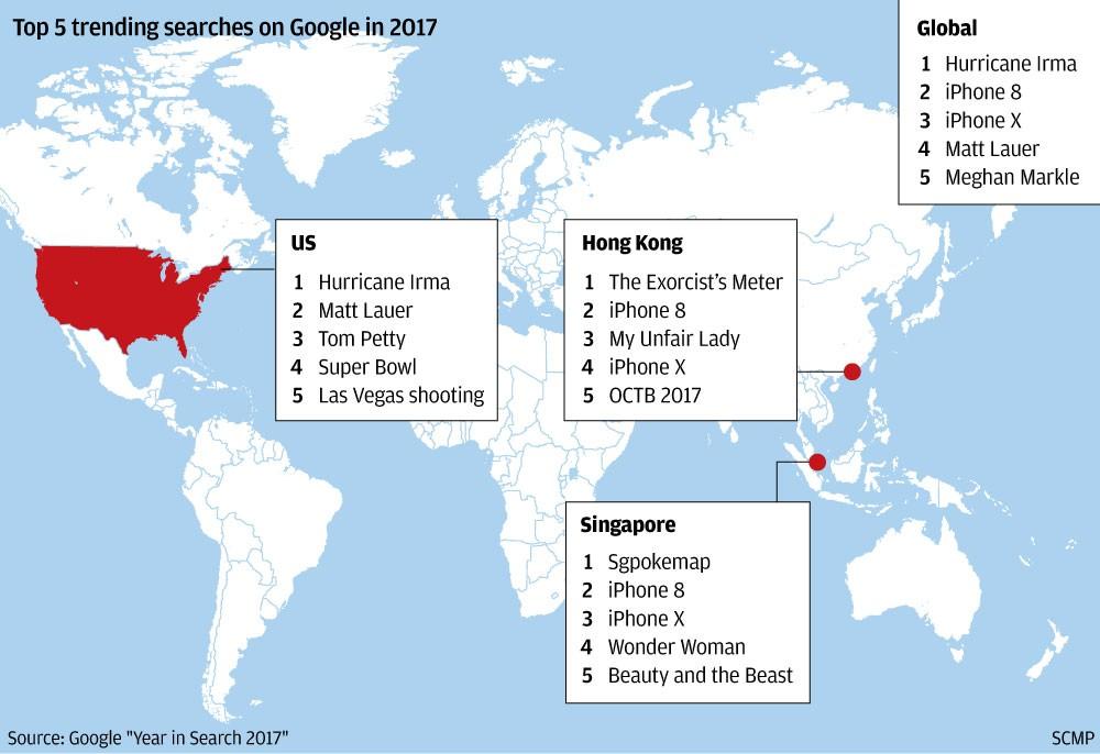 Hongkongers spent the year Googling TV dramas while ...