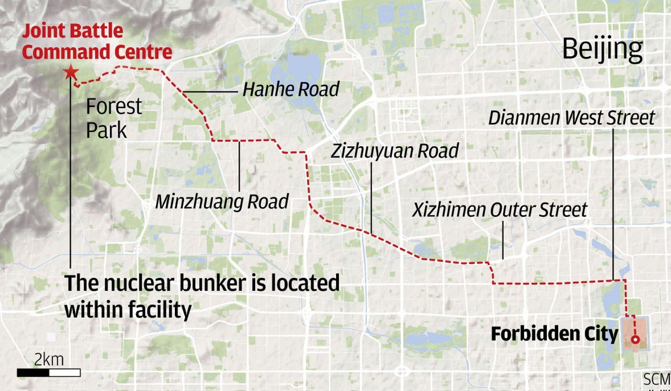Map Of Uk Nuclear Bunkers.Where China S Top Leaders Will Hide To Survive Nuclear Fallout