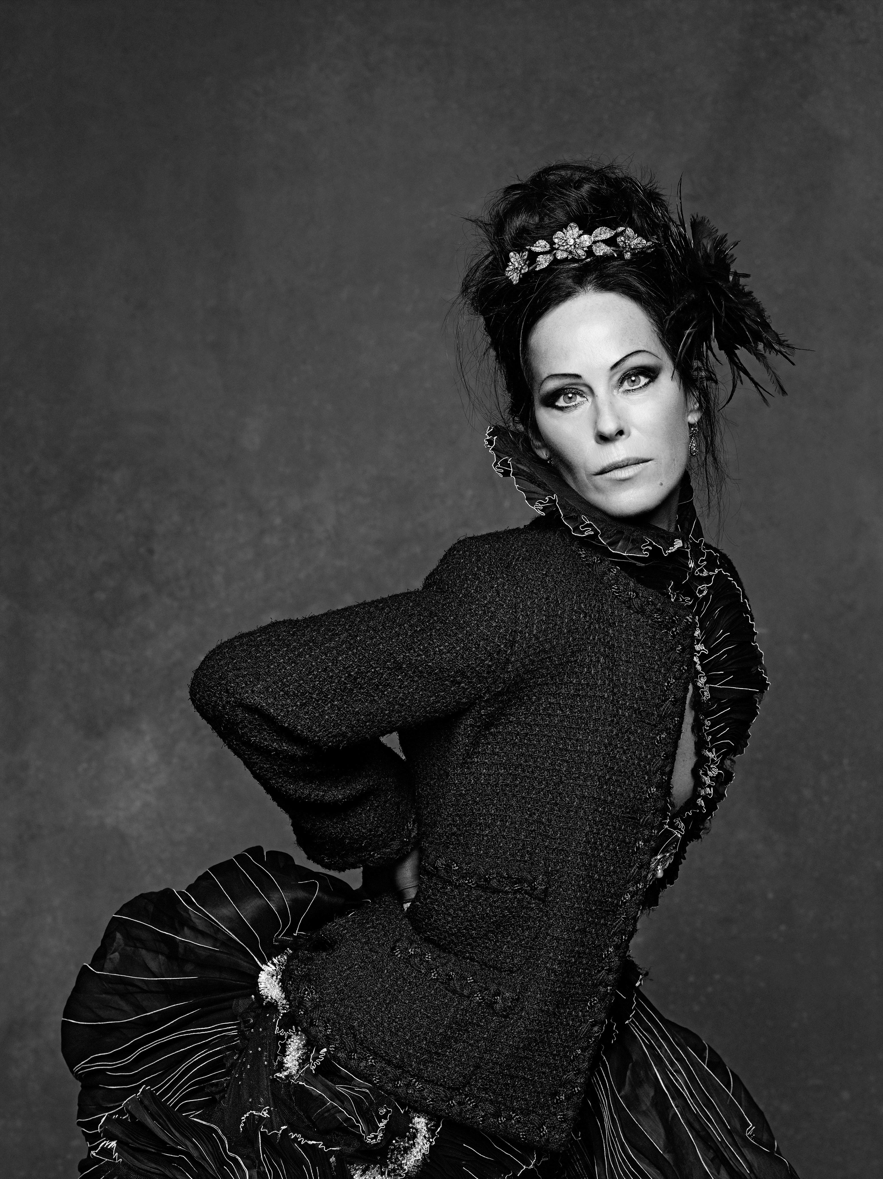 Karl Lagerfelds Right Hand Woman Lady Amanda Harlech On The