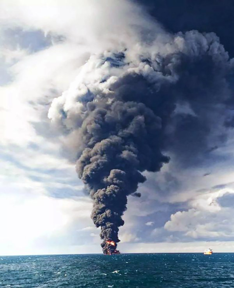 Three possible outcomes from East China Sea oil spill ...