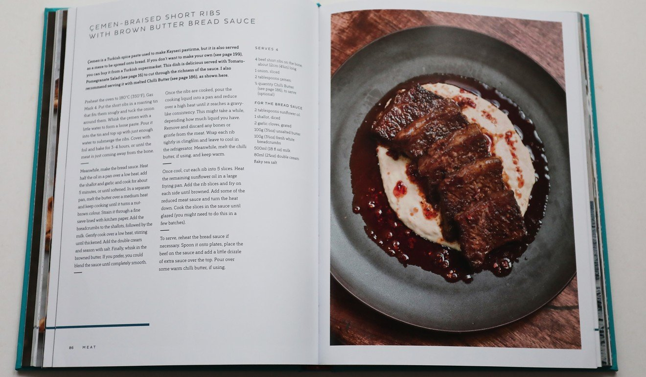 London chef draws on her turkish cypriot heritage for cookbook emen braised short ribs with brown butter bread sauce from oklava forumfinder