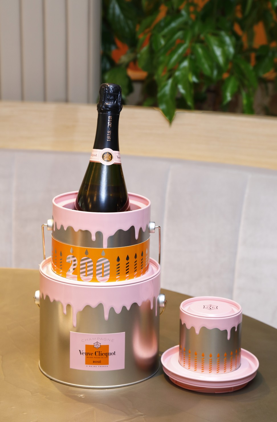 Veuve Clicquot Celebrates 200 Years Of Its Champagne Rose Chef Vicky Lau Left Tate Dining Room Bar