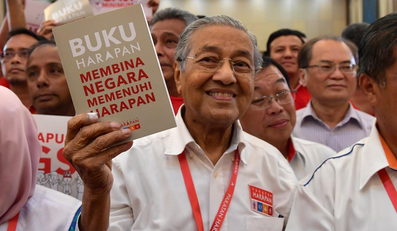Mahathir Mohamad Pakatan Harapan Election Manifesto
