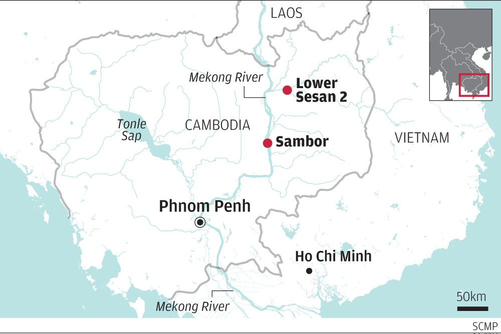 Are Chinese Funded Dams On The Mekong River Washing Away Cambodian