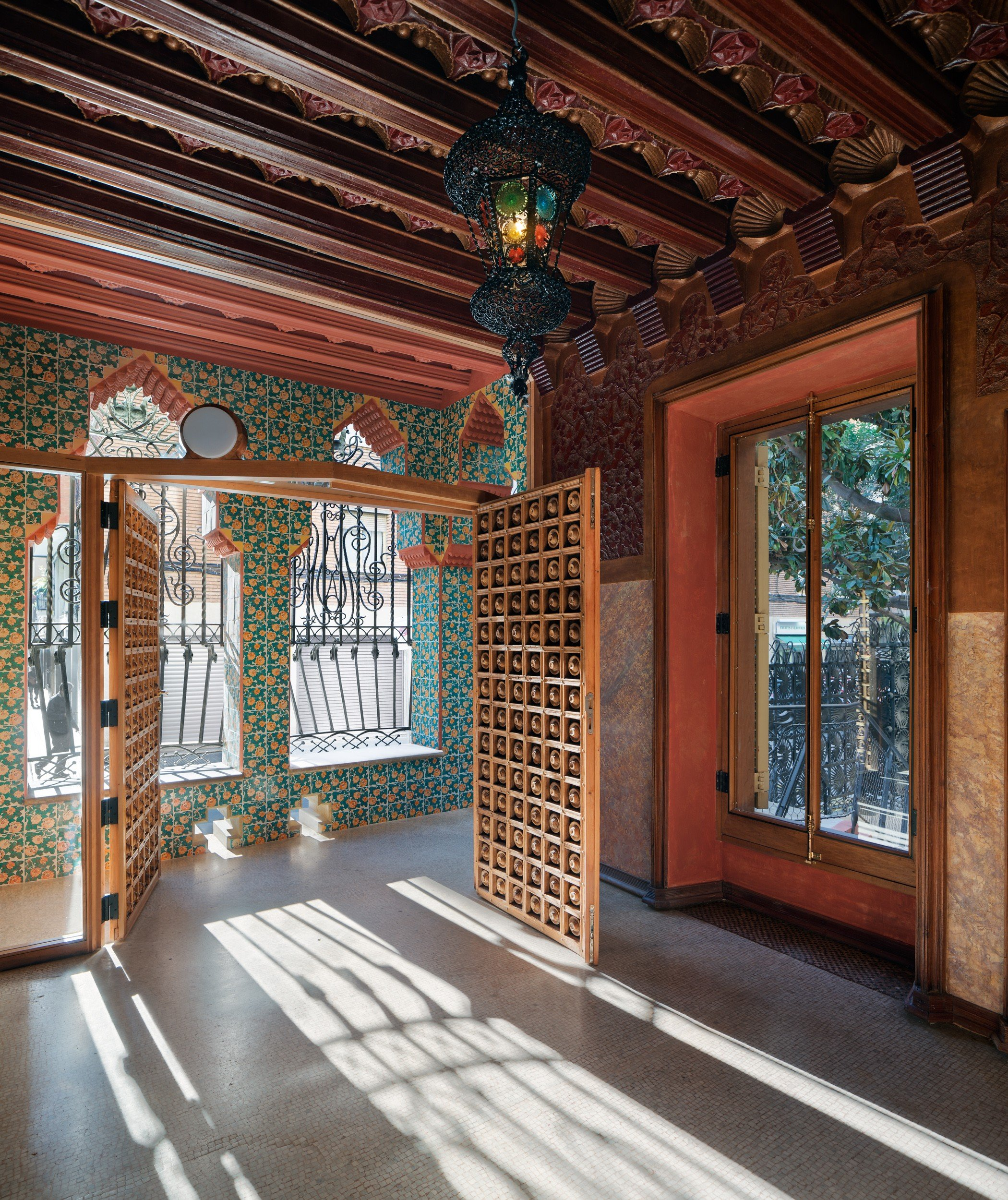 Barcelona Houses: Inside Gaudí's First House: 130-year-old Casa Vicens Opens