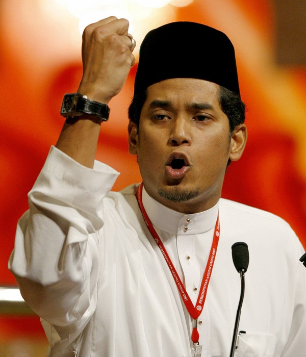 Malaysia's Youth and Sports Minister Khairy Jamaluddin. Photo: AFP