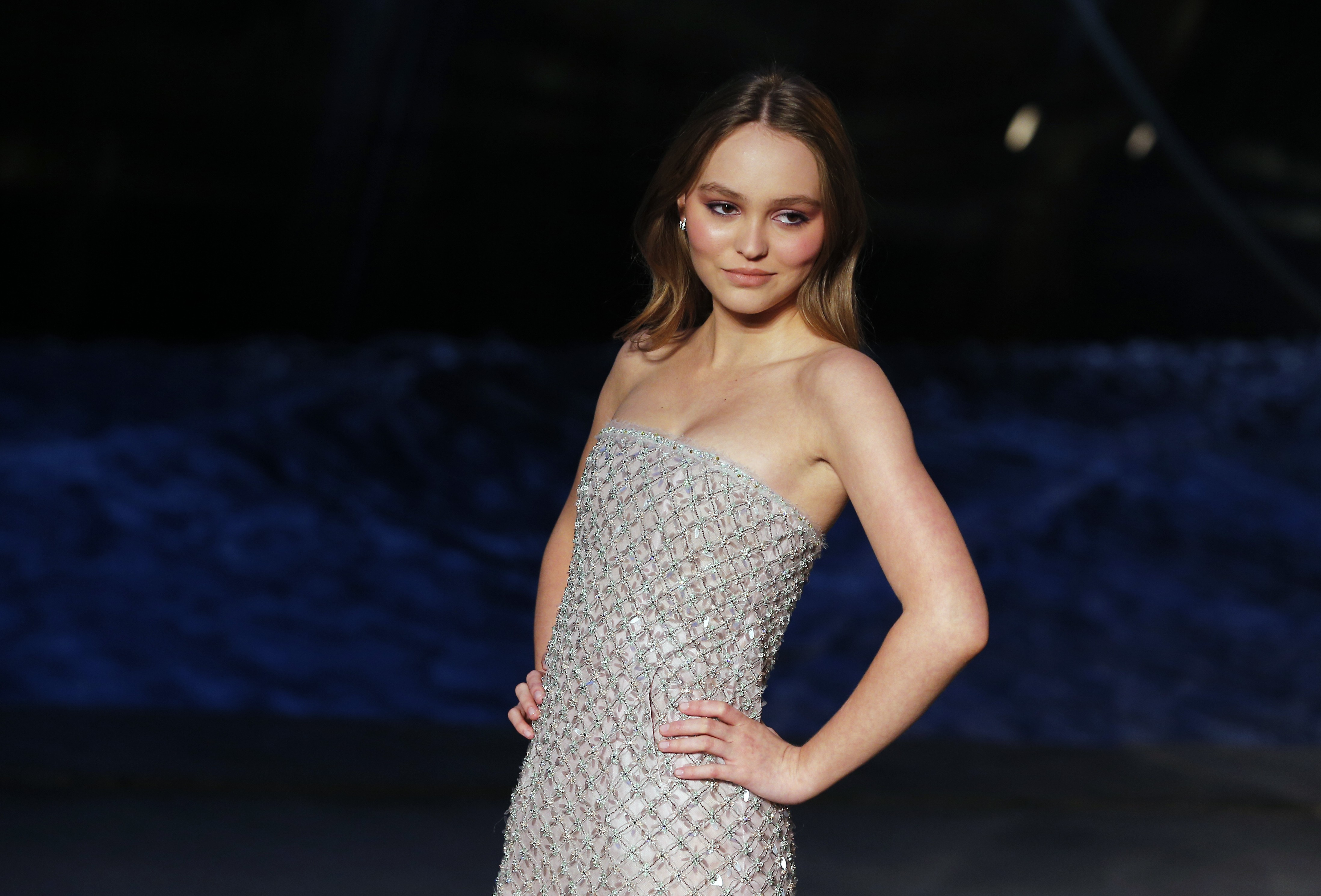6d0a986fd0818 Chanel s  ocean liner  wows celebrities at Cruise collection fashion show  in Paris
