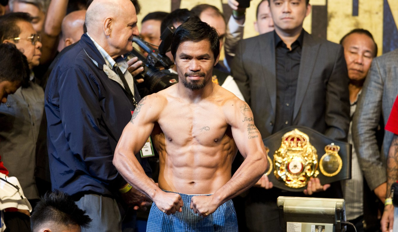 Manny Pacquiao And Lucas Matthysse Make The Weight For Welterweight