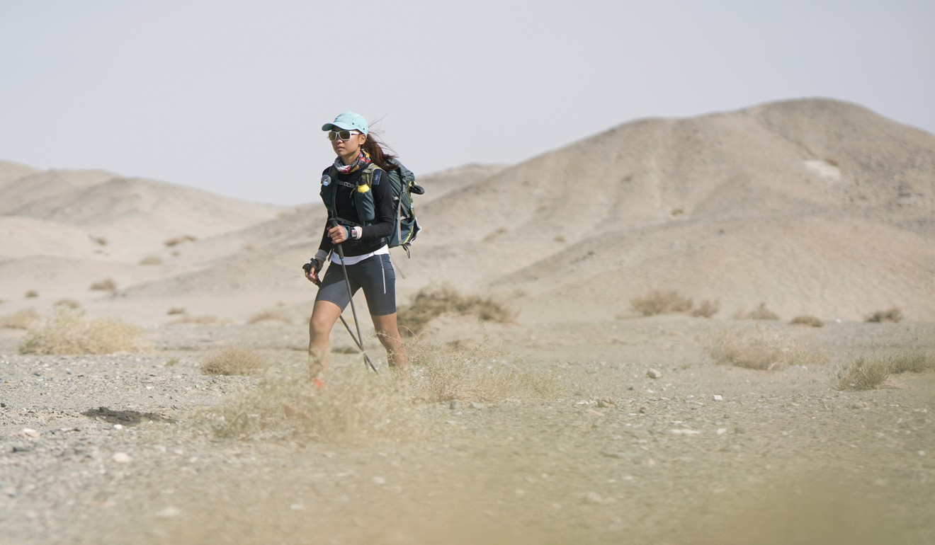 bf95f582d Samantha Chan was the third female in last year's Ultra Gobi and supports  to decision to offer prize money. Photo: Lloyd Belcher Visuals