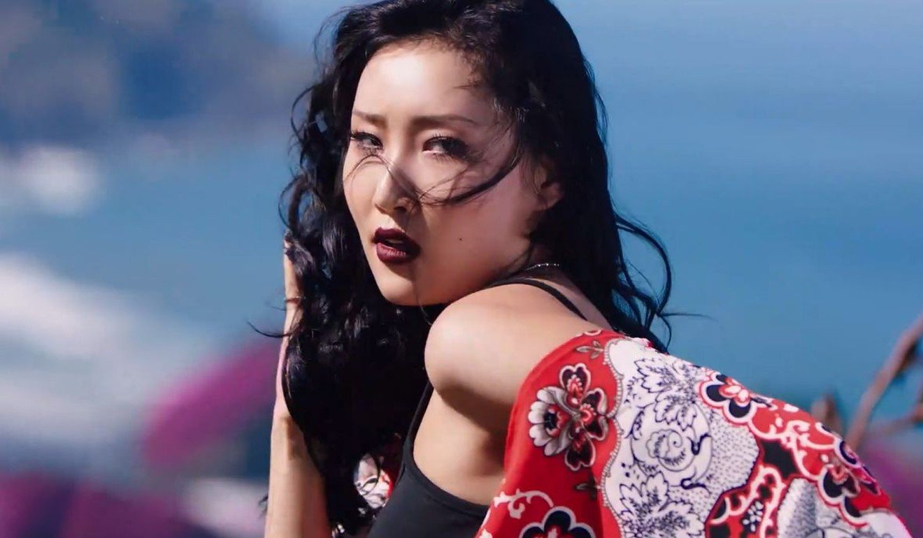 Hwasa from K-pop girl group Mamamoo: the singer and rapper