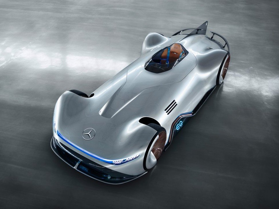 Back To The Future For Mercedes Eq Silver Arrow E Concept