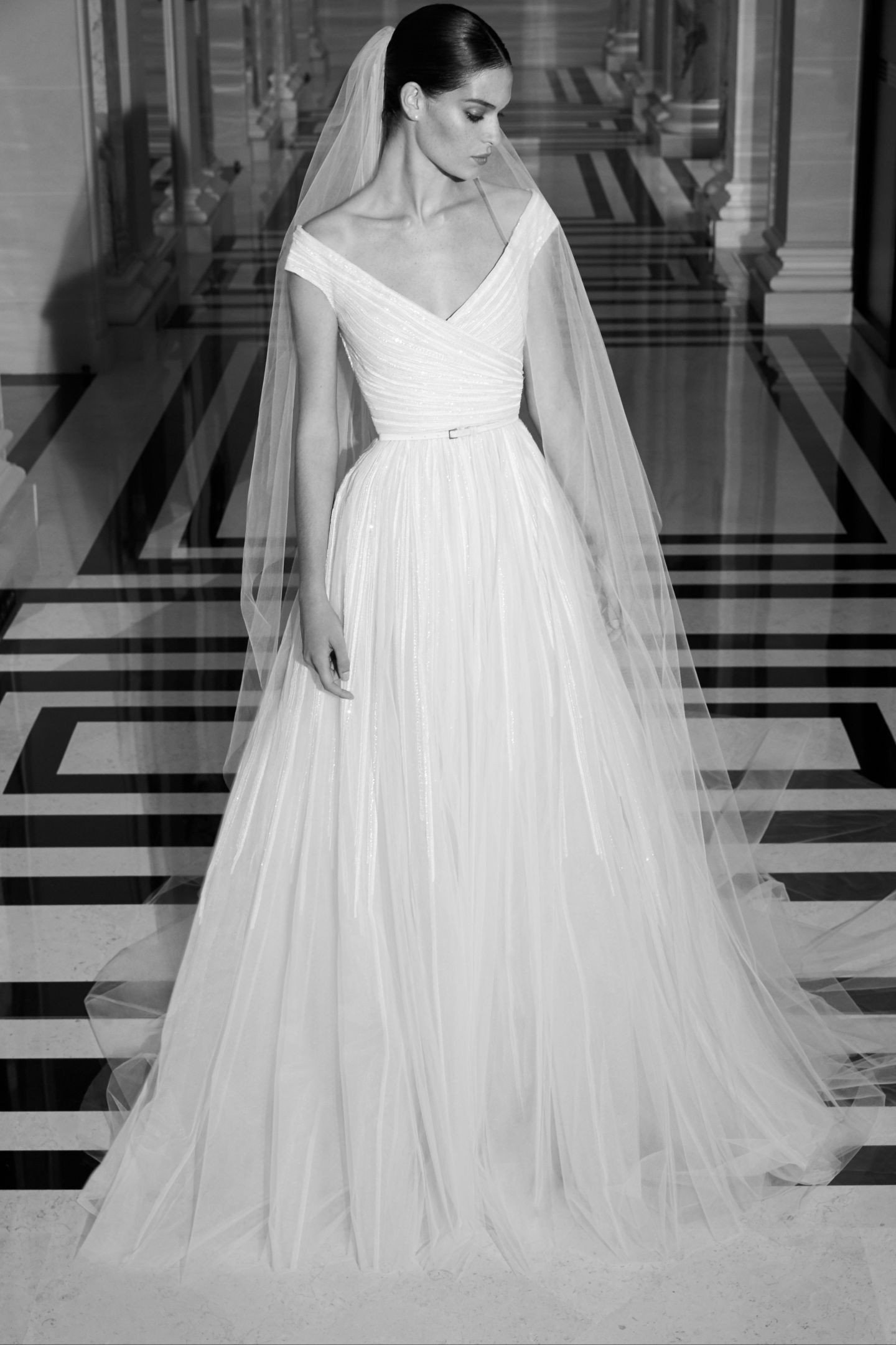 A Simple Yet Stunning Wedding Gown From Elie Saab