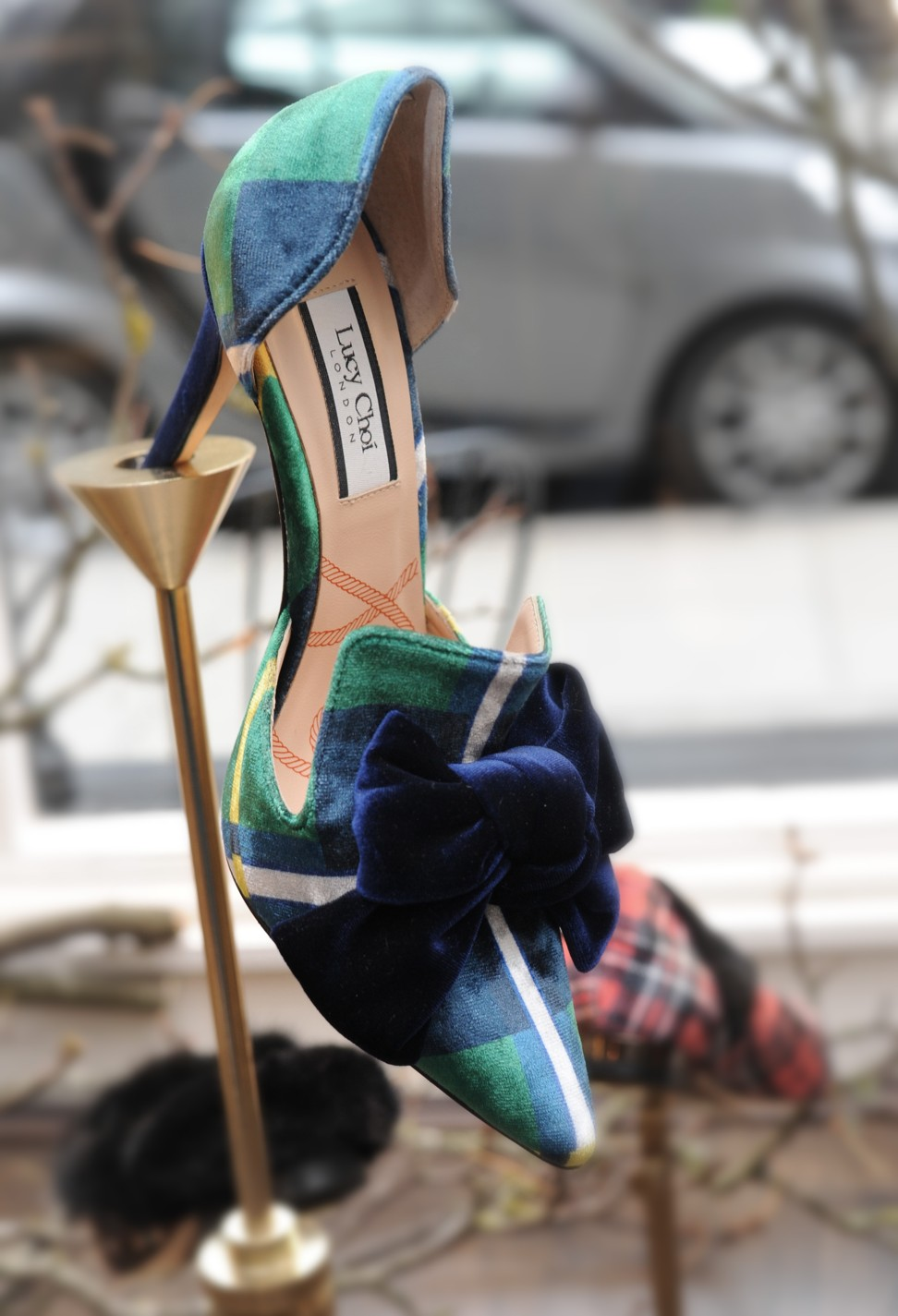 4b8e9b8c905 Shoe designer Lucy Choi follows in uncle Jimmy Choo s famous footsteps