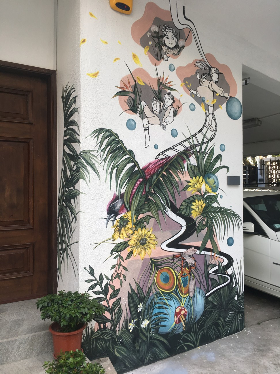 Street Art Moves Indoors As Designers Home Makers Use Graffiti And