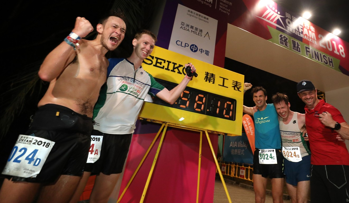 Oxfam Trailwalker: Hongkongers take first place after epic