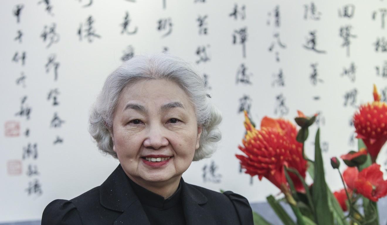 Former secretary for justice Elsie Leung.