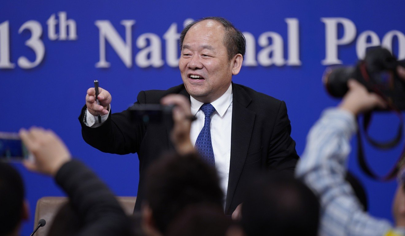 Ning Jizhe, a vice-chairman of the National Development and Reform Commission. Photo: EPA