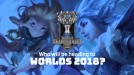 The League of Legends World Championship schedule is out!
