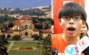 Student leader Joshua Wong may not make the cut for the Stanford elite programme. Photo: Felix Wong, SCMP Pictures