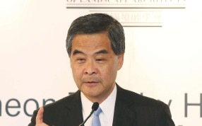 Chief Executive Leung Chun-ying. Photo: K. Y. Cheng