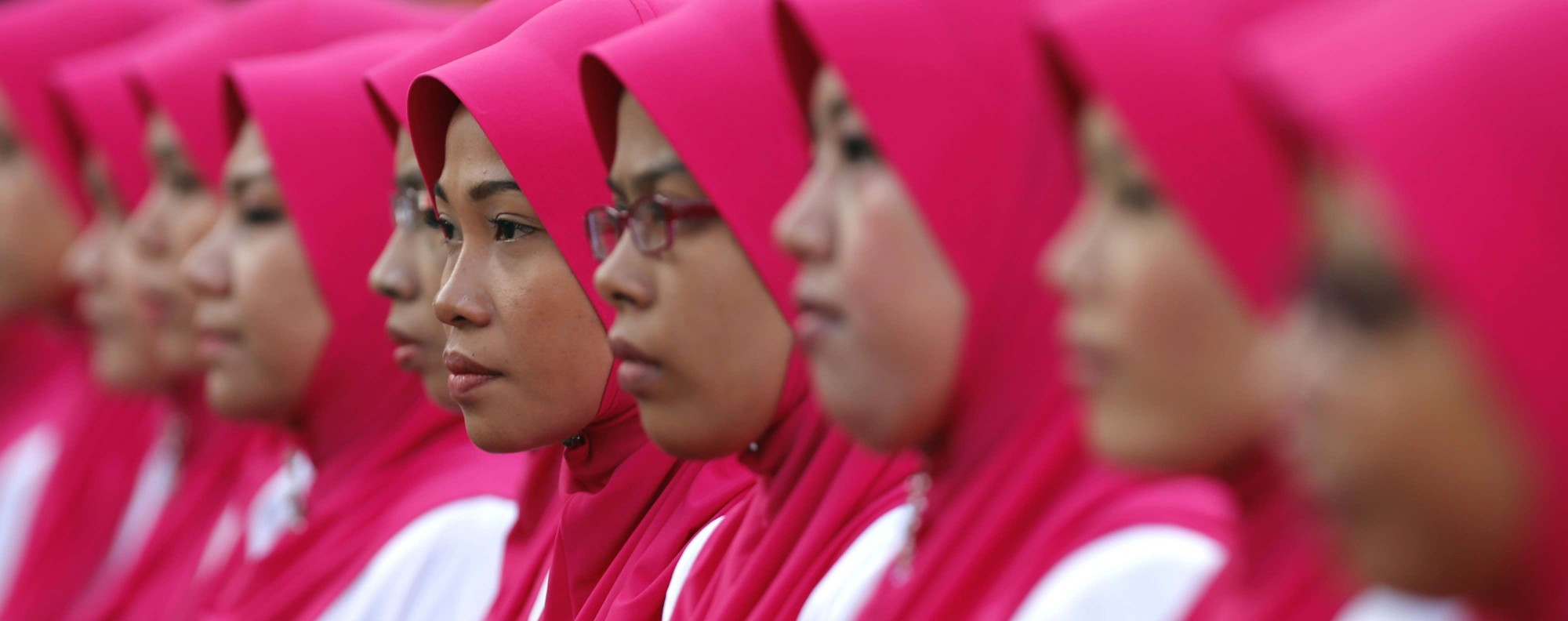 The annual UMNO assembly in Kuala Lumpur.