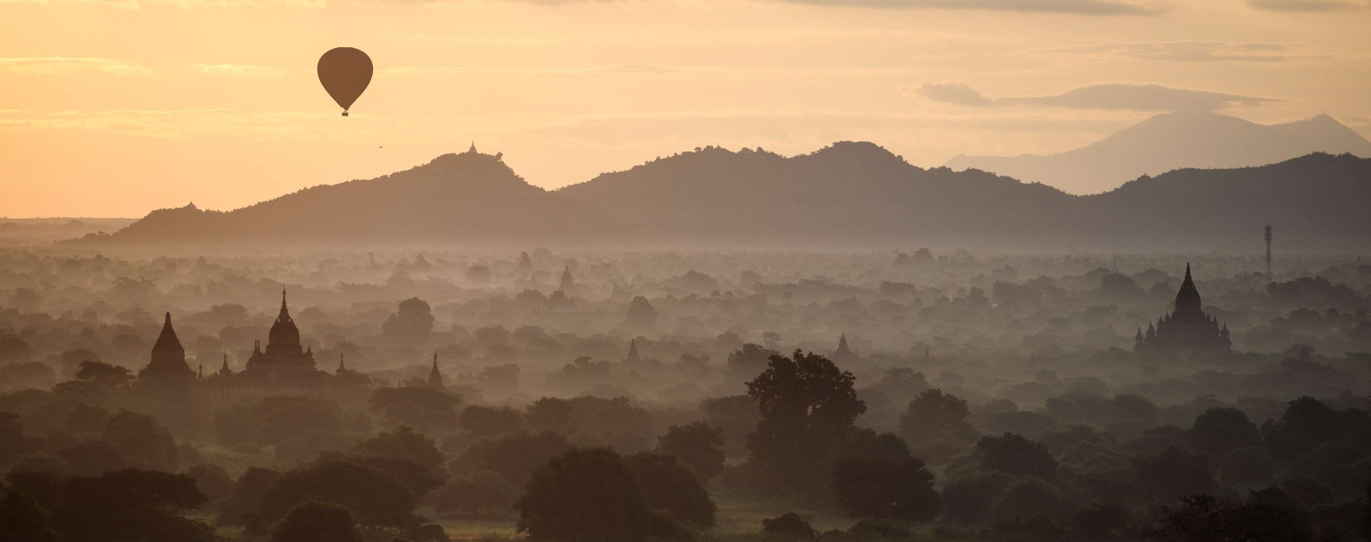 Bagan is still an impressive site, especially from a hot air balloon.