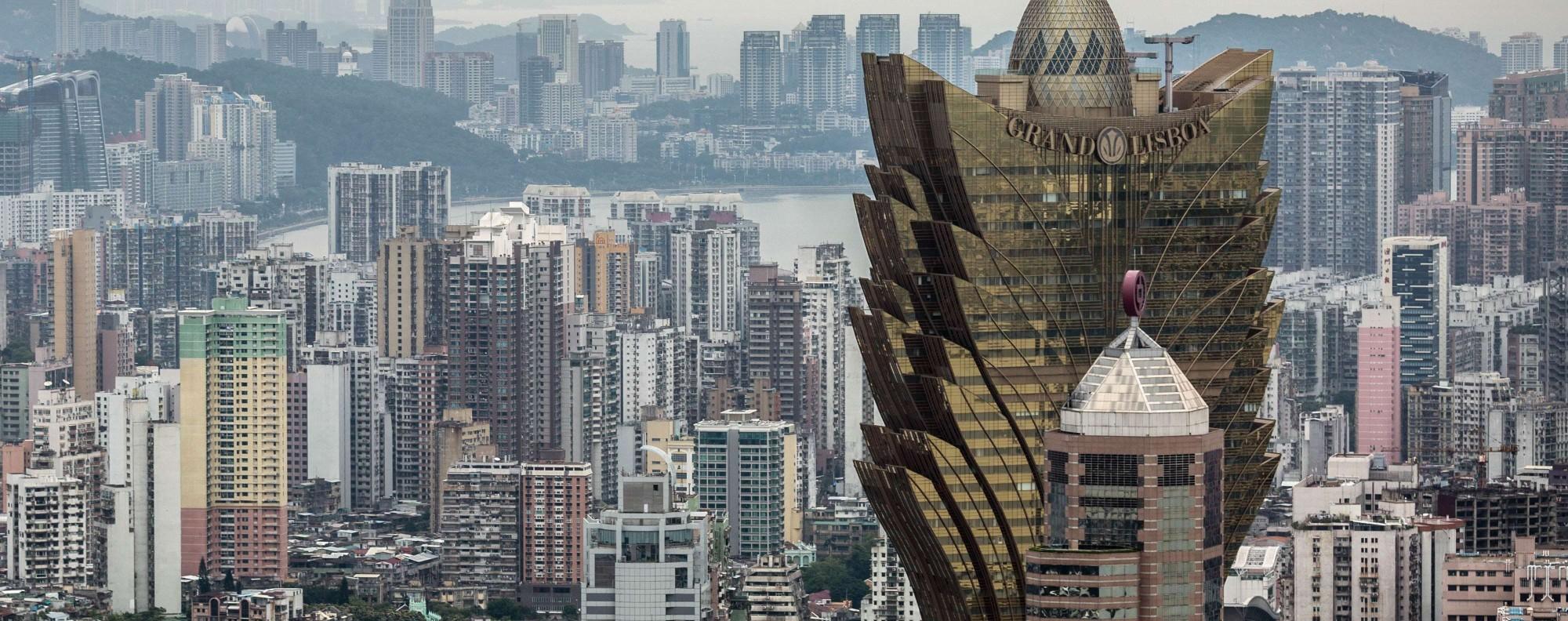 The Macau skyline. Photo: AFP