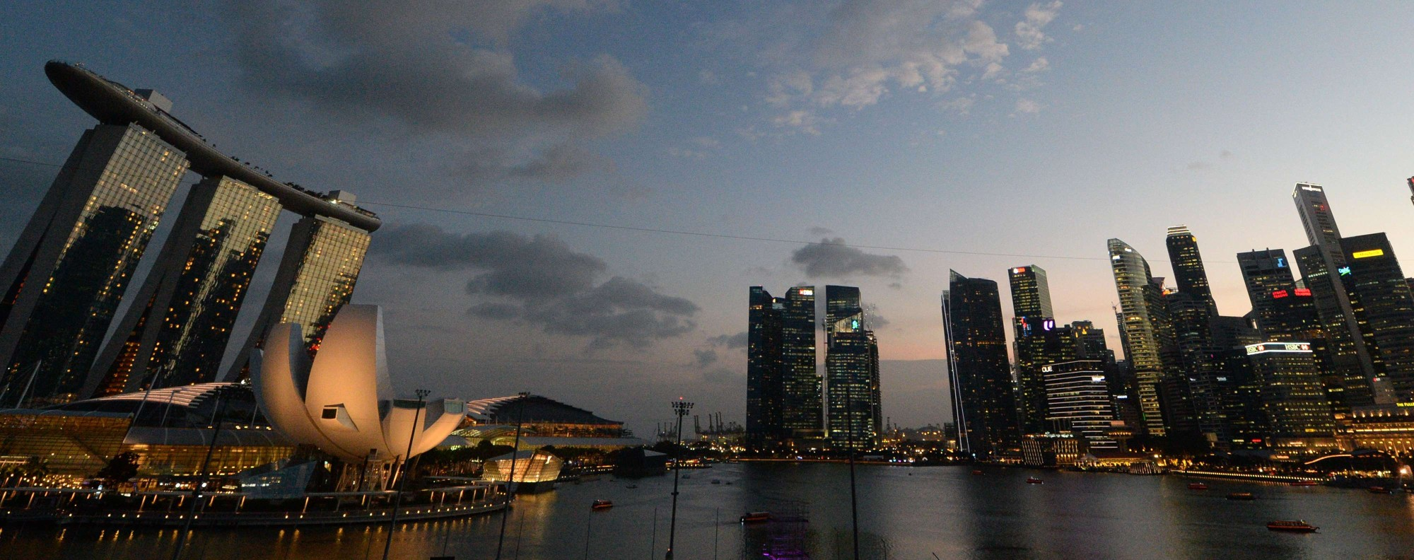Singapore: renowned for its open and competitive economy. Photo: AFP