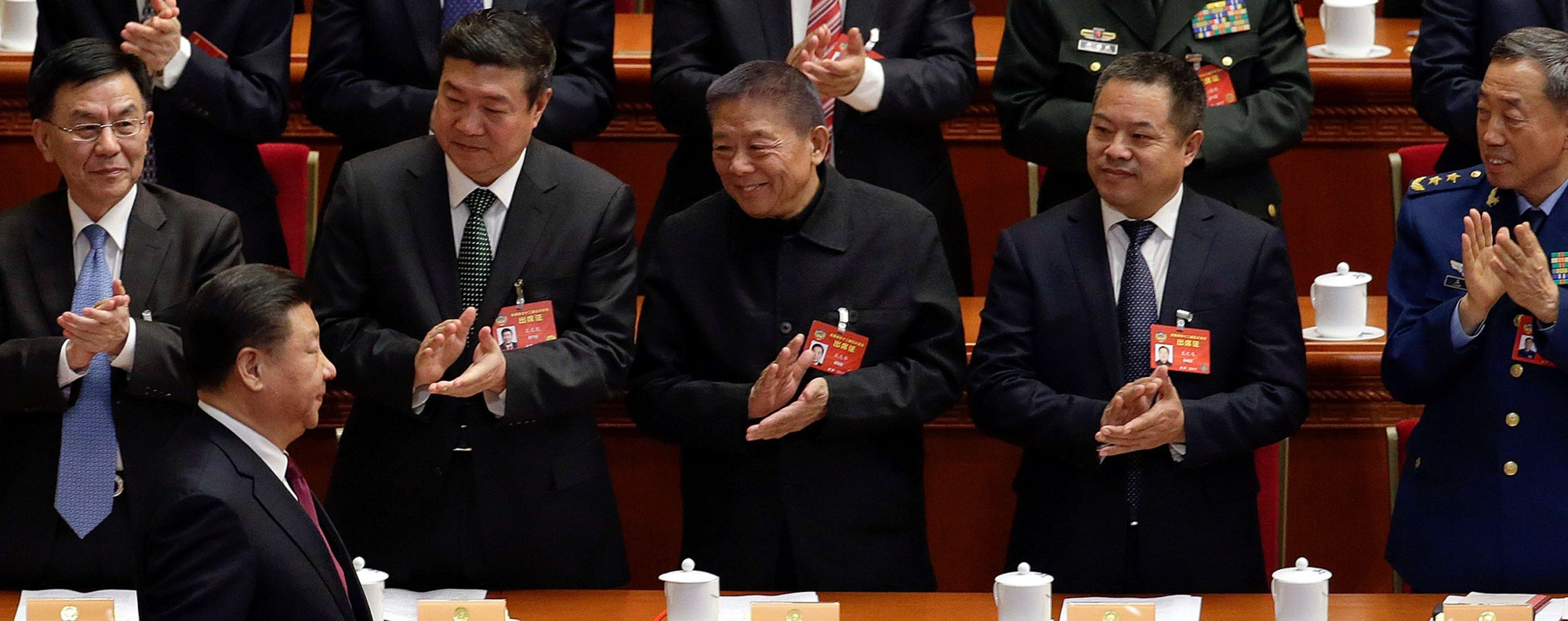China's President Xi Jinping at the CPPCC. Photo: Reuters