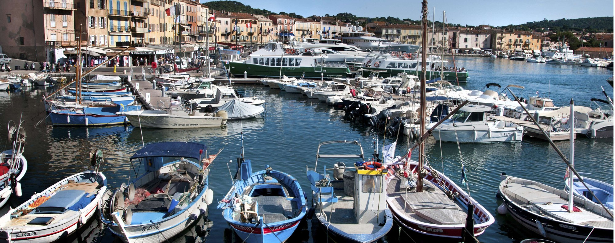 The St Tropez harbour. Picture: Alamy