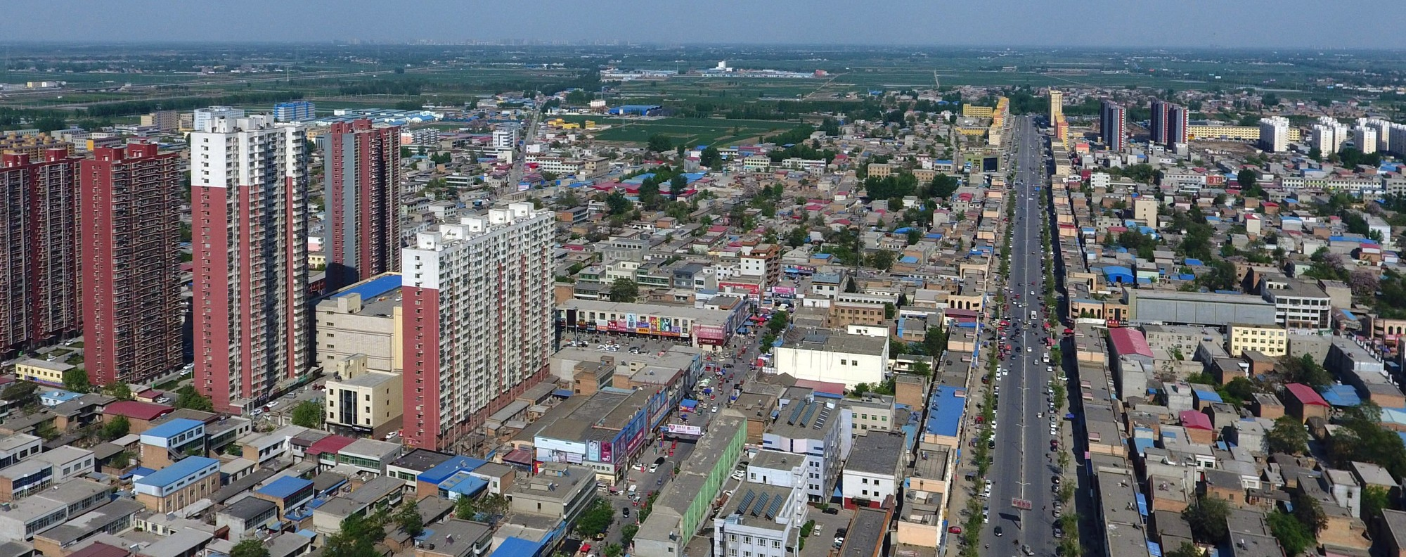 Xiongan New Area will be located in Hebei Province. Photo: Xinhua