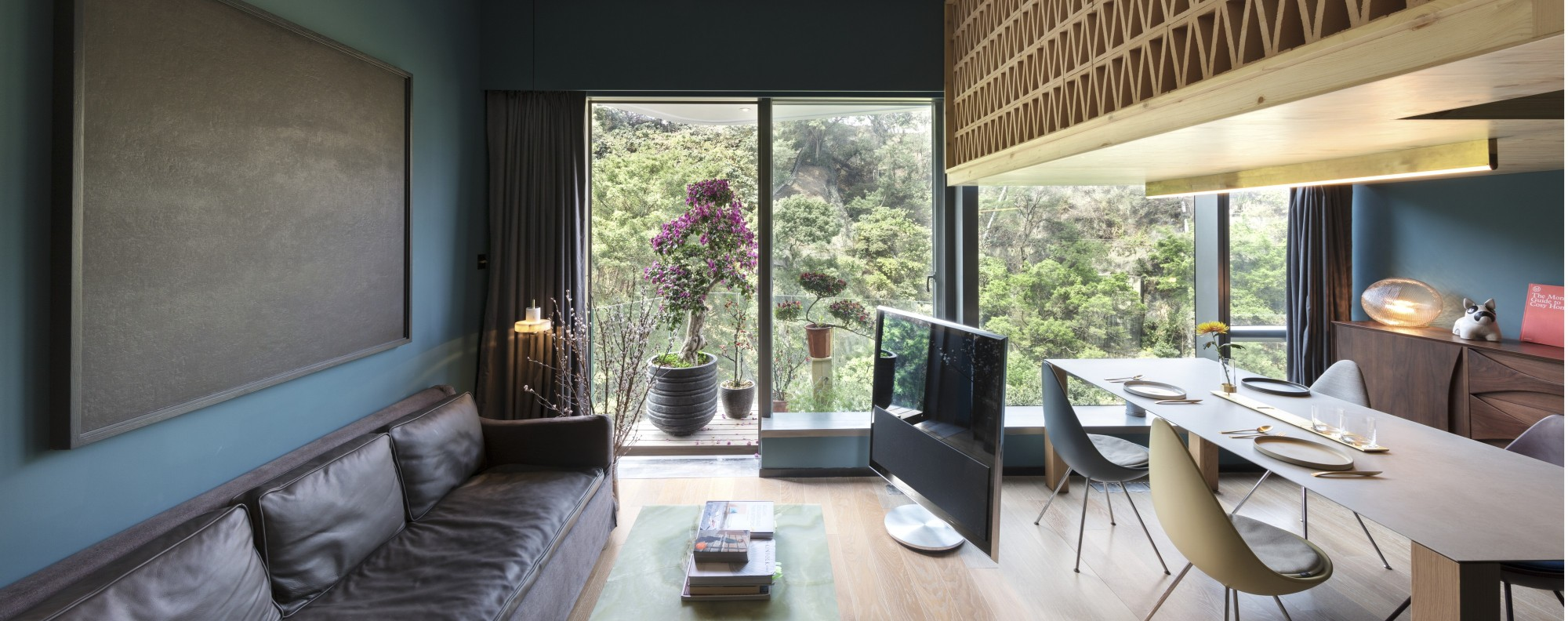 Nelson Chow Took Inspiration From The Trees Outside This 30th Floor Flat In  Kowloon To