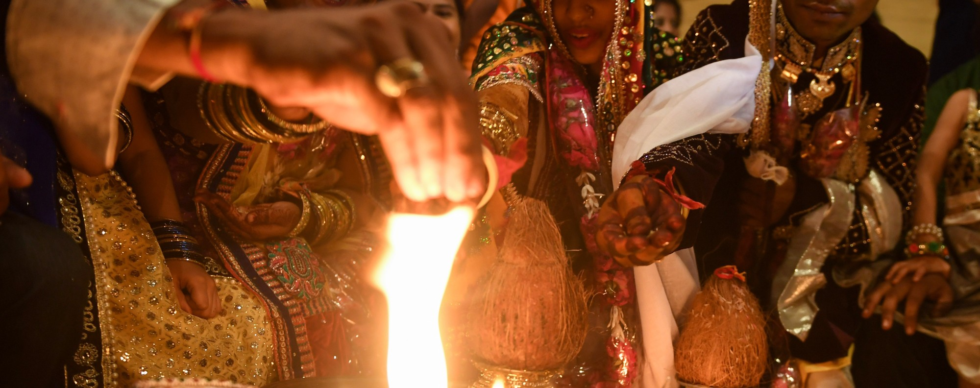 A wedding ceremony in Pakistan. Photo: AFP