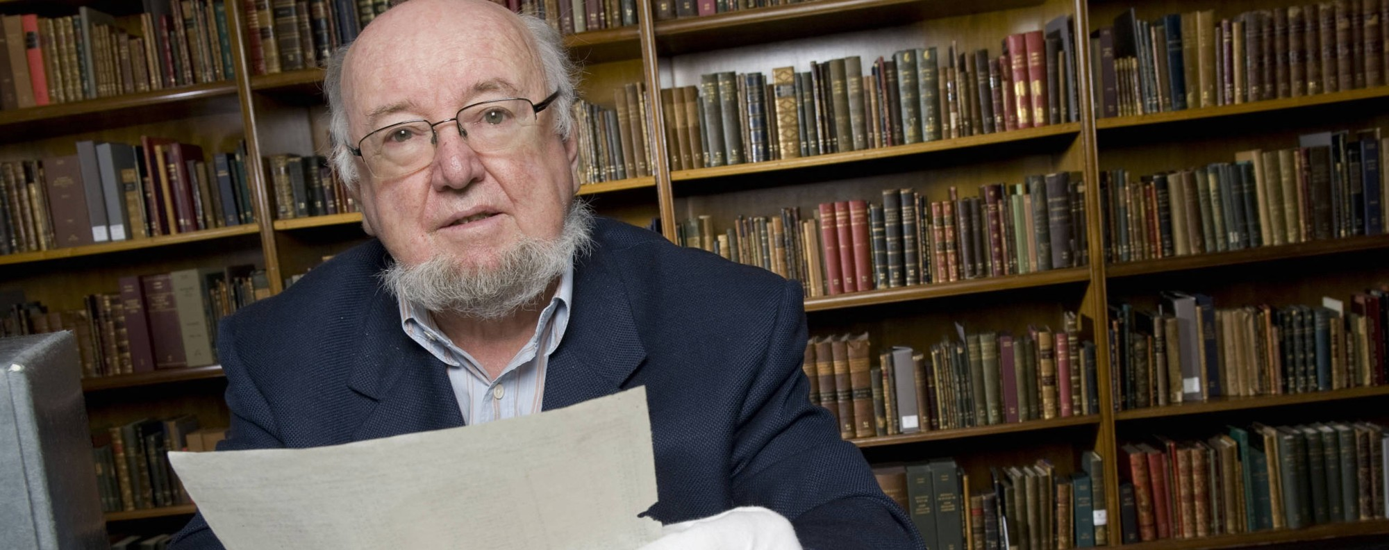 Thomas Keneally, author of Schindler's Ark. Photo: AFP